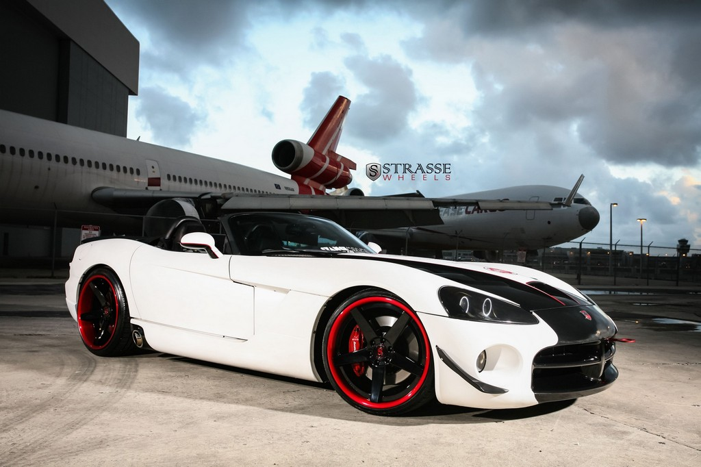 Strasse Wheels - Dodge Viper SRT10 - S5 Deep Concave Wheels